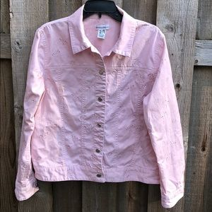 Jackets & Blazers - Dusty Rose Adorable Jacket